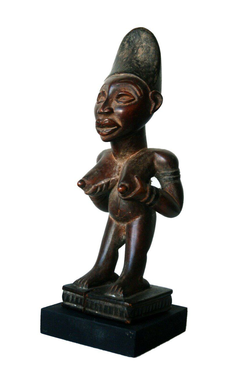 statue femme Yombe